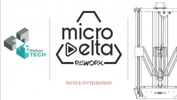MicroDelta Rework - mise à jour notice utilisation