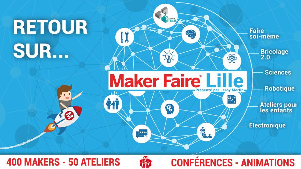 Retour sur la Maker Faire Lille 2018