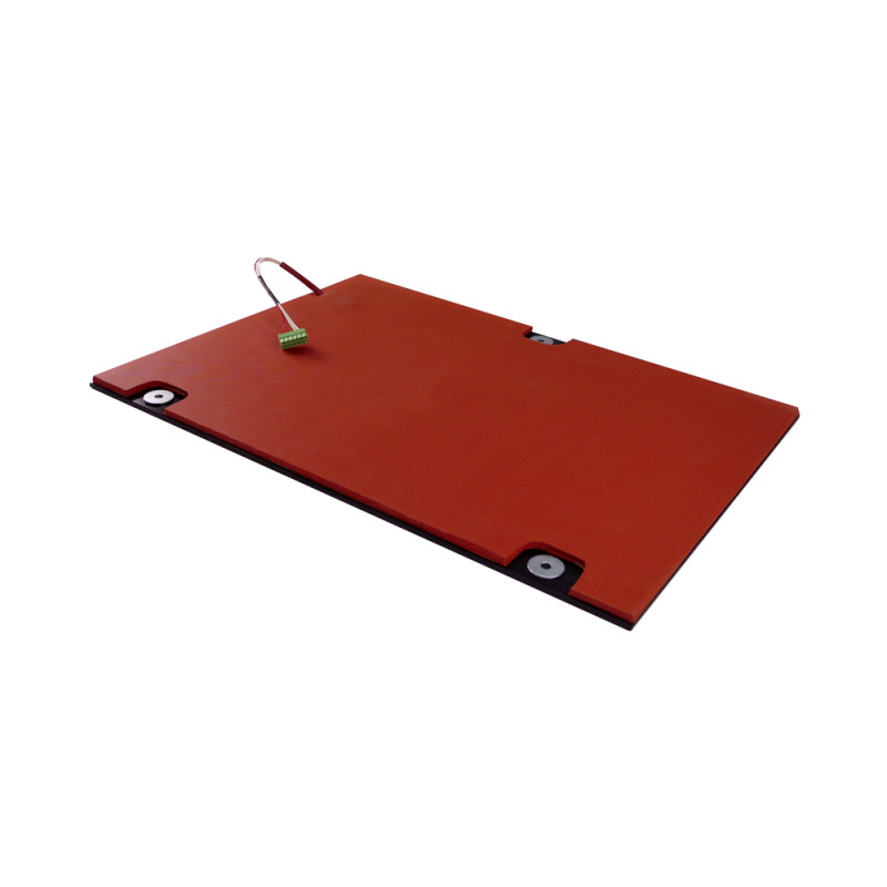 Borosilicate glass bed, with 220V heatpatch and thermistor for Strateo3D DUAL600
