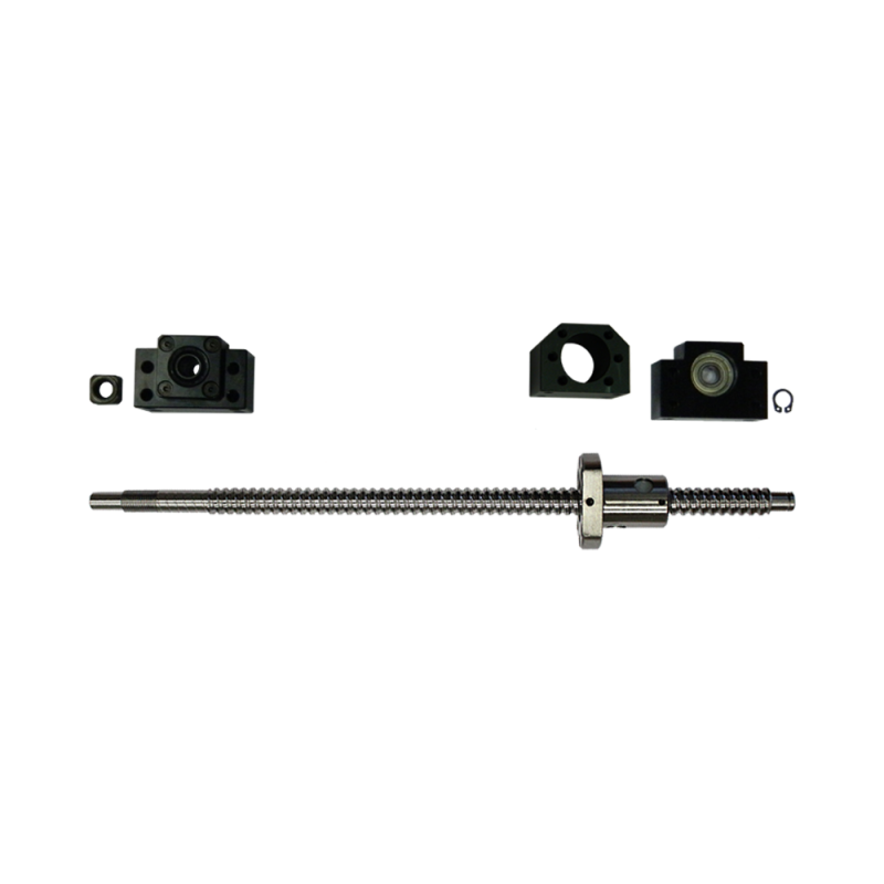 Kit vis à billes 16 mm par 1000 mm avec paliers et support d
