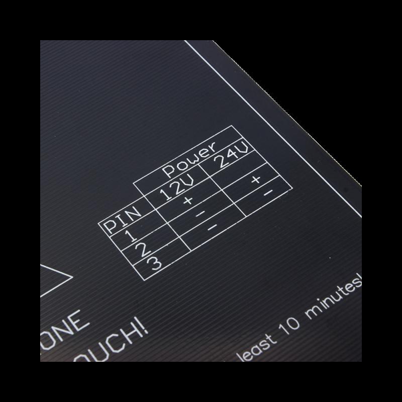 Kit plateau chauffant Aluminium + Thermistance MK3