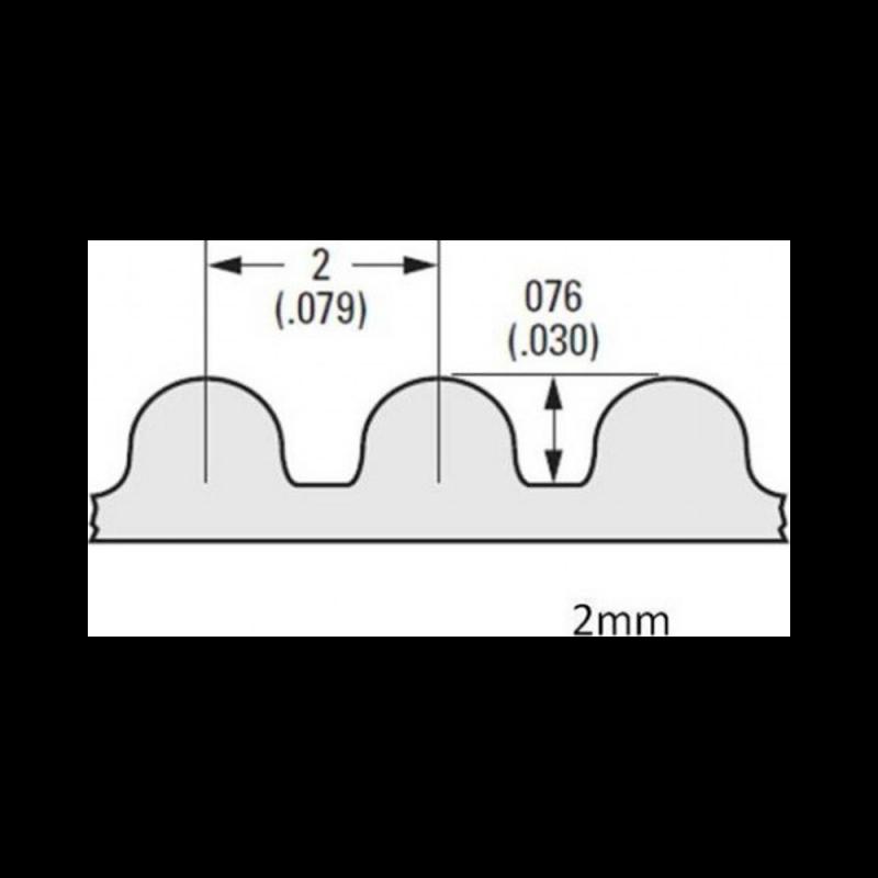 Courroie GT2 largeur 9mm au mètre