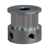 T2.5 pulley 16 teeth for 6mm belt, for 5mm axis