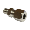 Olive screw connection M6 for 4mm tube