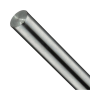 8mm plated Linear shaft 370mm