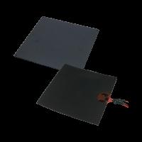 Kit plateau chauffant aluminium avec patch 12V, 140W, et thermistance