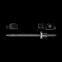 Kit vis à billes 12 mm par 450 mm avec paliers et support d
