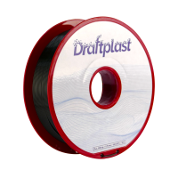 PLA Draftplast 1.75mm Noir 1kg
