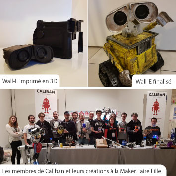 Wall-E et Caliban